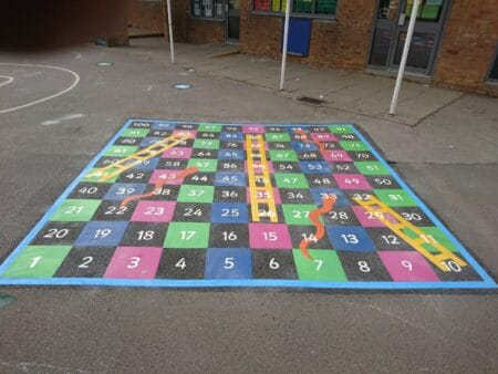 1-100 Solid Snakes & Ladders