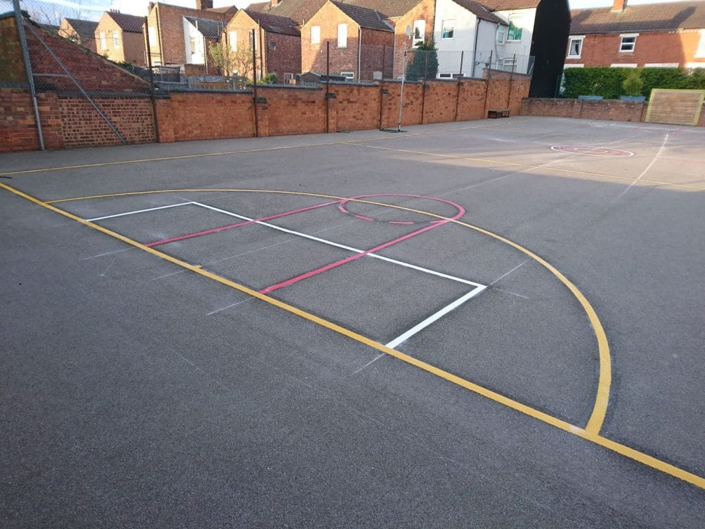 Football Games on Playground Football Court