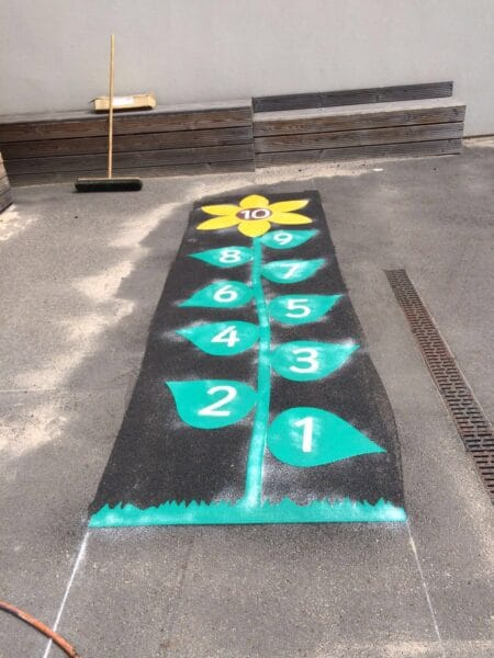 Sunflower Hopscotch