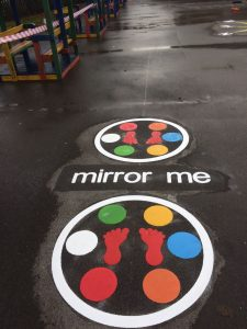 Mirror Me Playground Marking Game