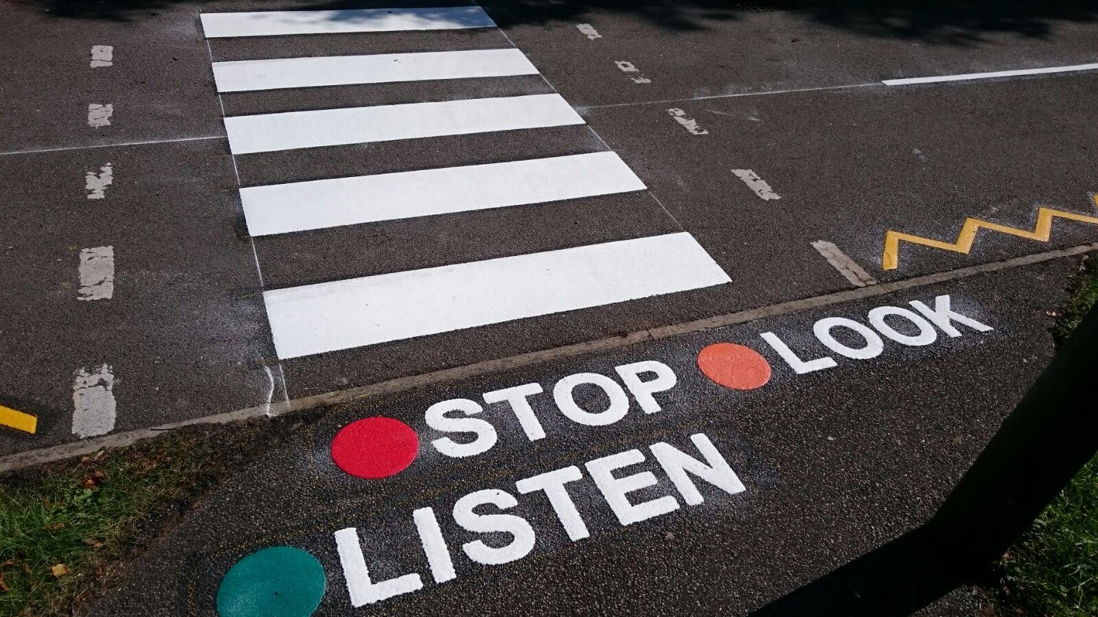 playground marking road