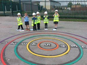 Playground markings