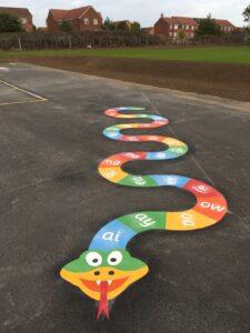 Playground Markings, Snake, Yorkshire