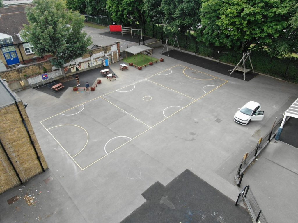 School's Sports Premium Markings