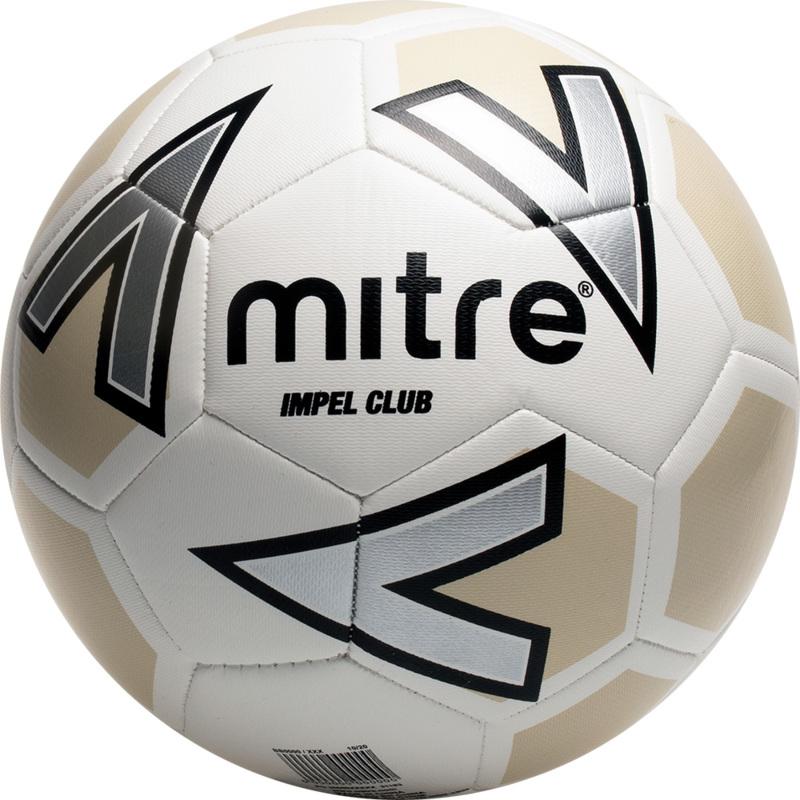 Mitre Impel Club White Football
