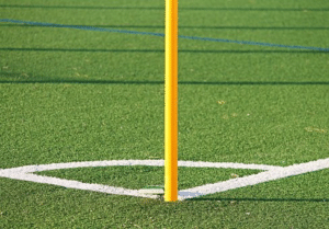 Playground flooring artificial grass