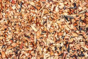 Playground flooring wood chips