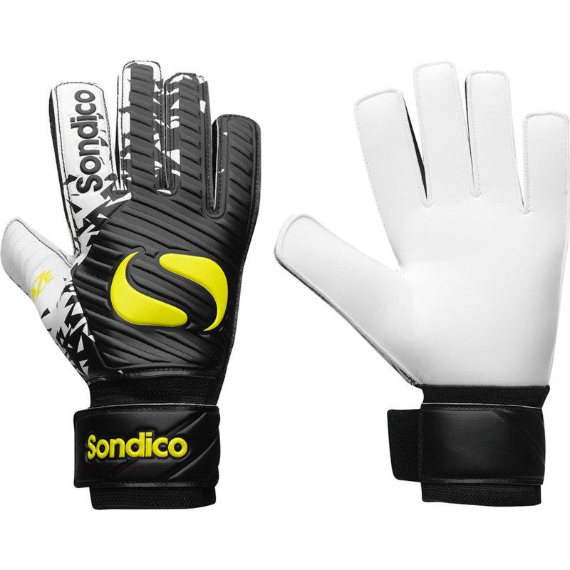 Sondico Blaze Goalkeeper Gloves Back and Front View