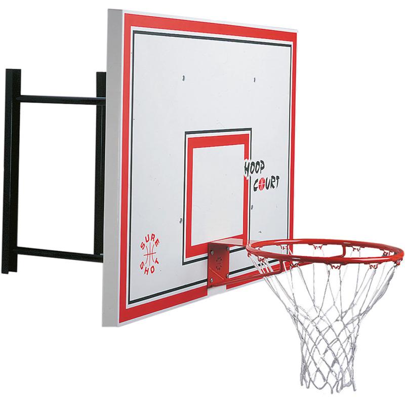 534 Euro Wall Mounted Basketball Backboard and Hoop
