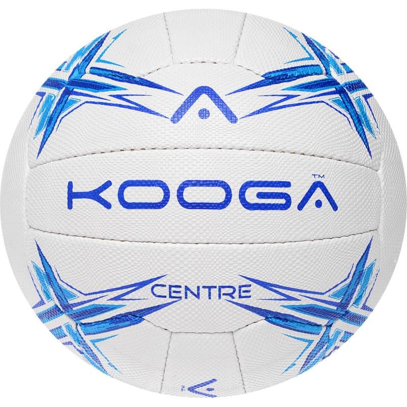 Kooga Centre White and Blue Size 4 Netball