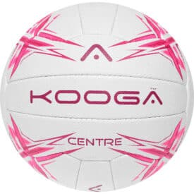 Kooga Centre White and Pink Size 5 Netball